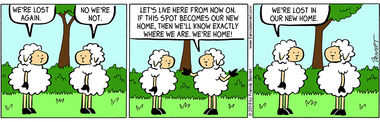 Excellent words comic lost sheep strip apologise, but