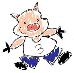 Piggy fan art logo
